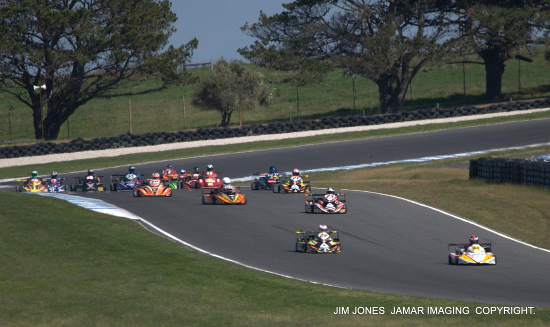 superkarts australia start