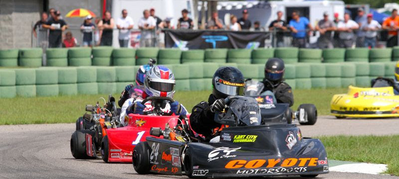 Ben Wagenhals was a top runner in WKA Gold Cup LO206 racing all season