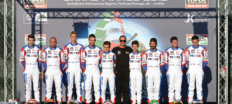 Equipe France Rotax Grand Finals