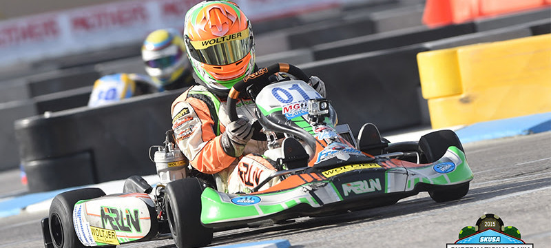 Lemke in action at the 2015 SKUSA SuperNationals in Las Vegas