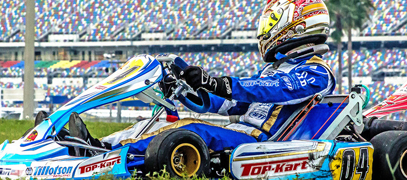 Jonathan Kotyk kicked off his 2016 season in the WKA event in Daytona (Photo Focal Perspective Media)