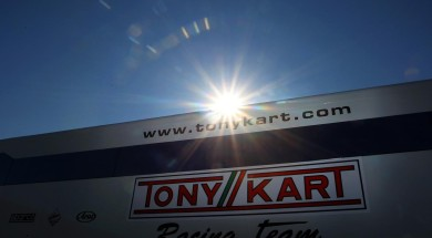 Tony Kart factory team starts at DKM