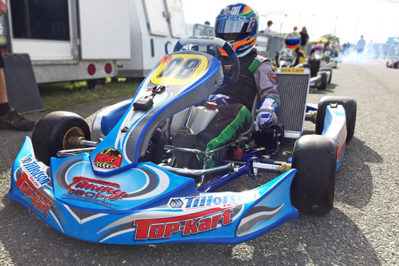 Top Karts had a strong showing in all classes and look strong again in 2016 (Photo Top Kart USA)