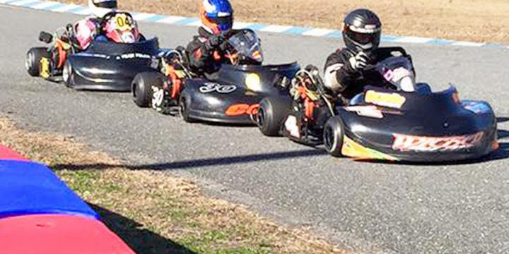 Coyote racers Matt Mayes and Sean Meier