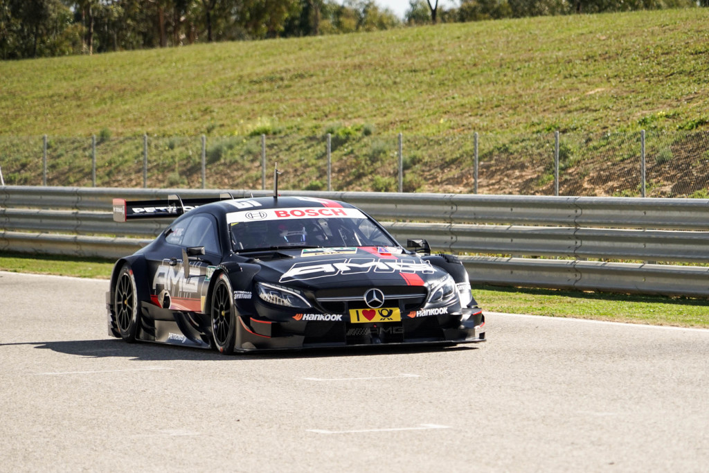 Circuito Monteblanco : The mercedes amg dtm team began testing this tuesday at