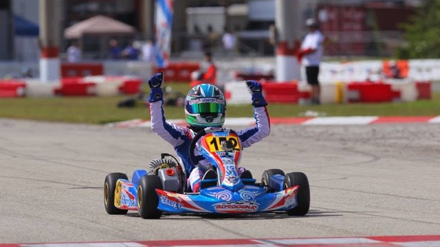 Jak Crawford is your Florida Winter Tour Vortex Mini ROK Champion Photo credit Canadiankartingnews