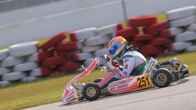 Michael d'Orlando and Team Koene USA are your 2016 Sofina Foods Florida Winter Tour Rotax Junior champions