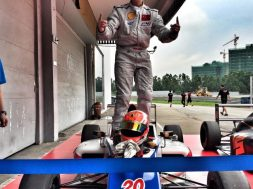 Bruno Carneiro at the Zhuhai track in China