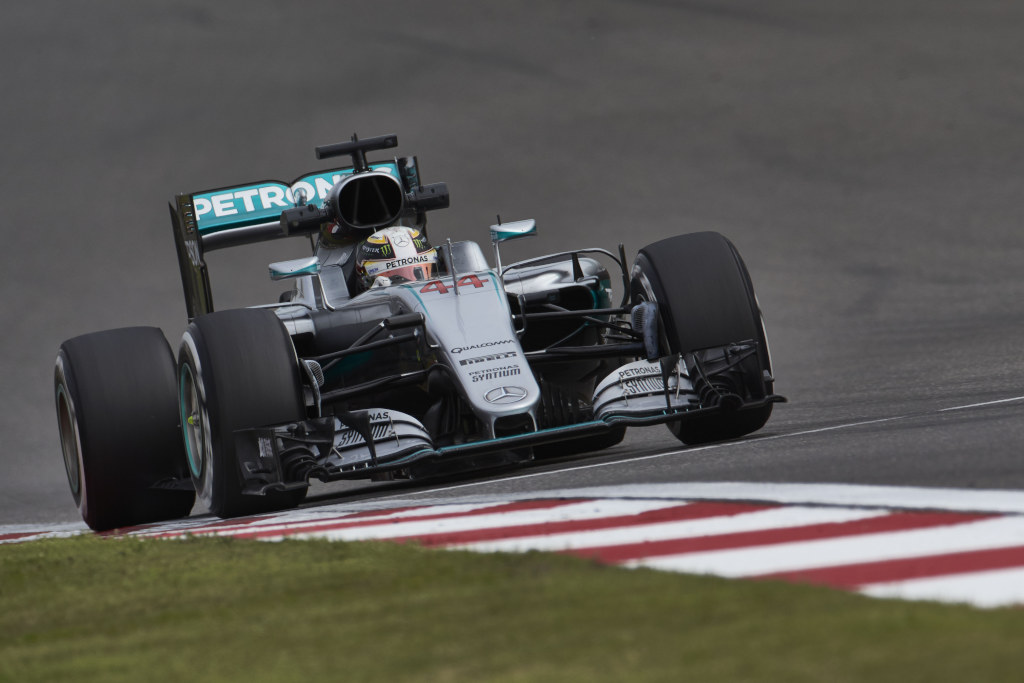 Nico dominates, Lewis battles back on a dramatic afternoon in Shanghai