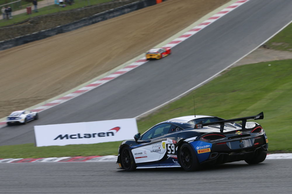 McLaren 570S GT4 makes successful race debut