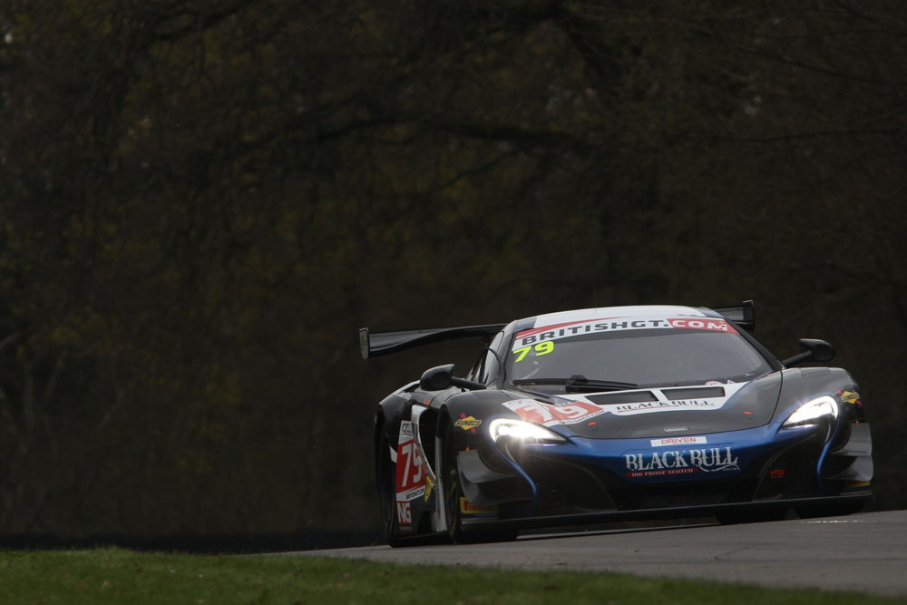 McLaren 650S GT3 in the British GT