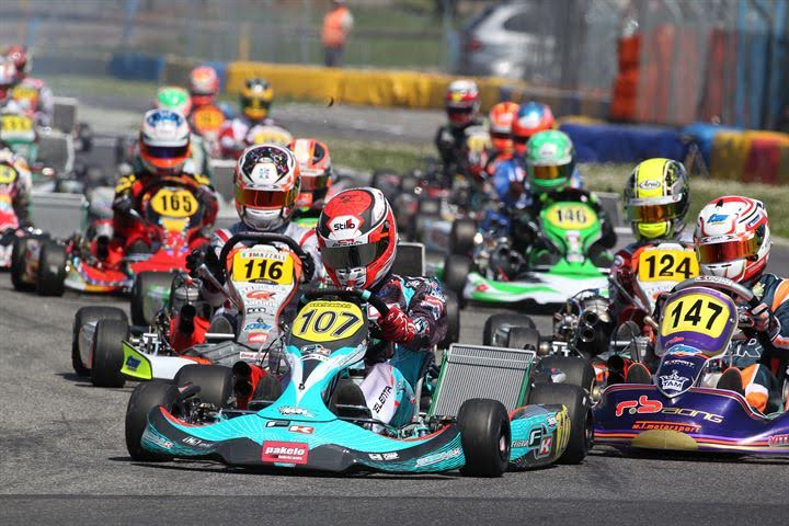 THE ITALIAN ACI KARTING CHAMPIONSHIP IN CASTELLETTO WITH A RECORD PARTICIPATION OF 207 DRIVERS. FINALS ON SUNDAY LIVE ON TV