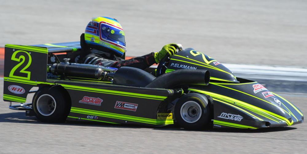 The winner of the 3 races, German P.Elkmann (Champion de France 2014 & 15)