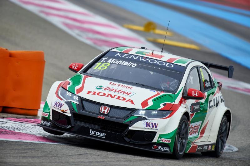 Tiago Monteiro aiming for victory in Slovakia