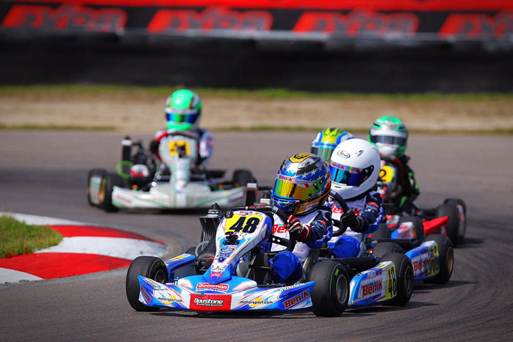 BENIK KART DRIVERS DOMINATE MICRO MAX CLASS AT OPENING ROUND OF US OPEN