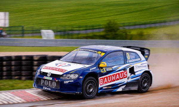 Best result of the season for Swedish rallycross team