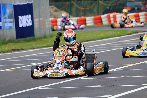 SPECTACULAR CRG AT THE OPENER OF THE GERMAN CHAMPIONSHIP IN WACKERSDORF