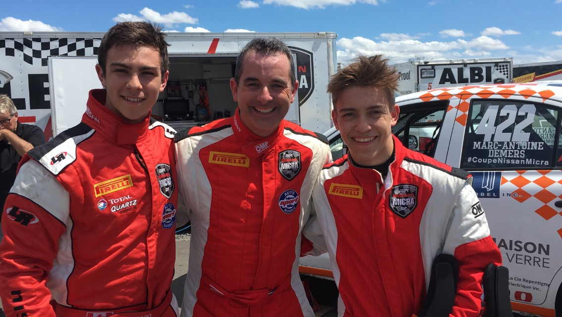 Micra cup 2016 drivers