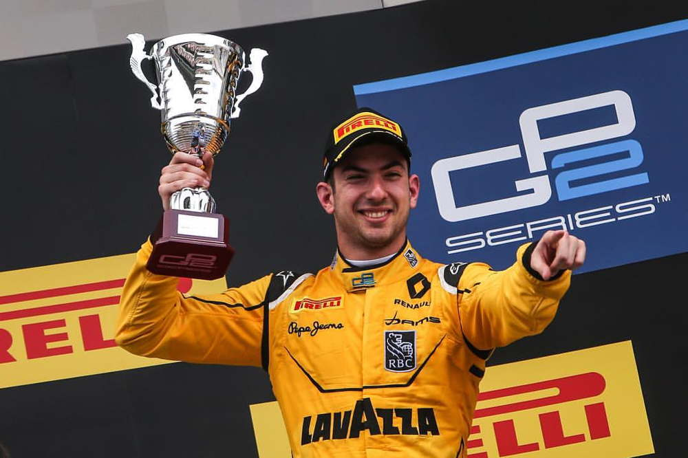 Victory and championship lead for DAMS at GP2 season-opener in Spain