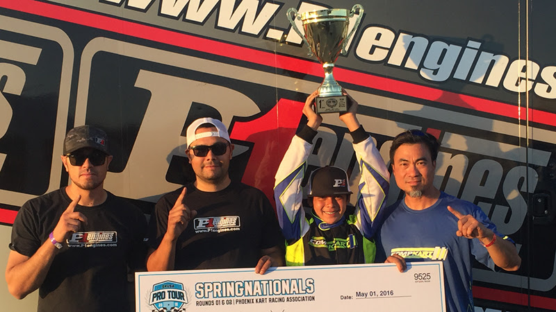 P1 ENGINES CLAIMS VICTORY IN X30 JUNIOR IN SKUSA PRO TOUR