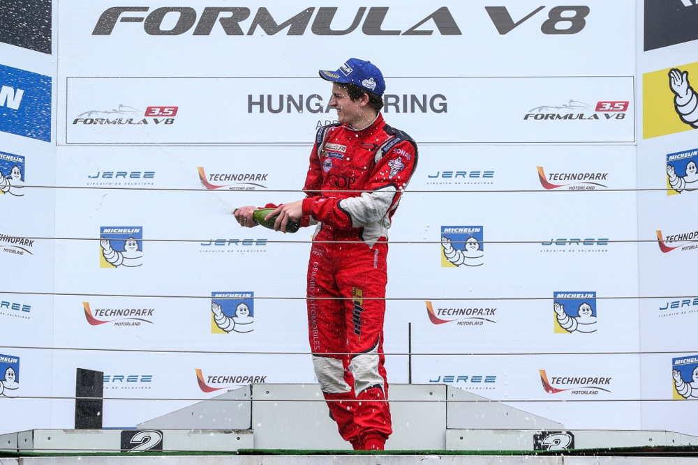Aurelien Panis secures another podium in Hungaroring