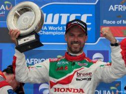 Tiago Monteiro adds fifth podium to his total in 2016 FIA WTCC