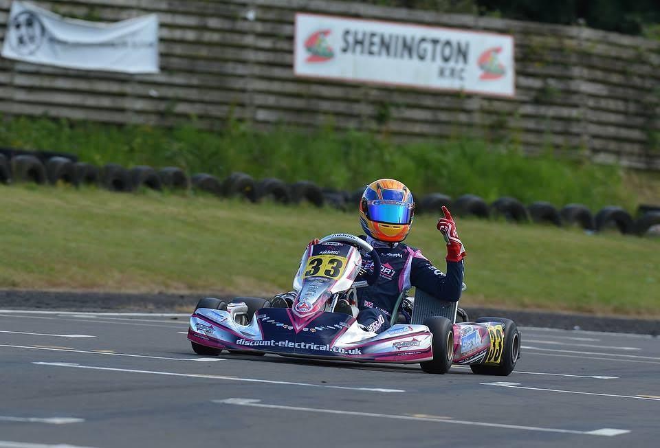 Jonathan Hoggard triumphed in OK DDJ at Shenington