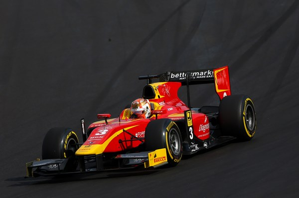 Norman Neto on Track with his GP2 racing engineering