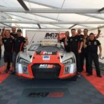 M1 GT Racing and Drivers Secure Top Two Spots photo with the team