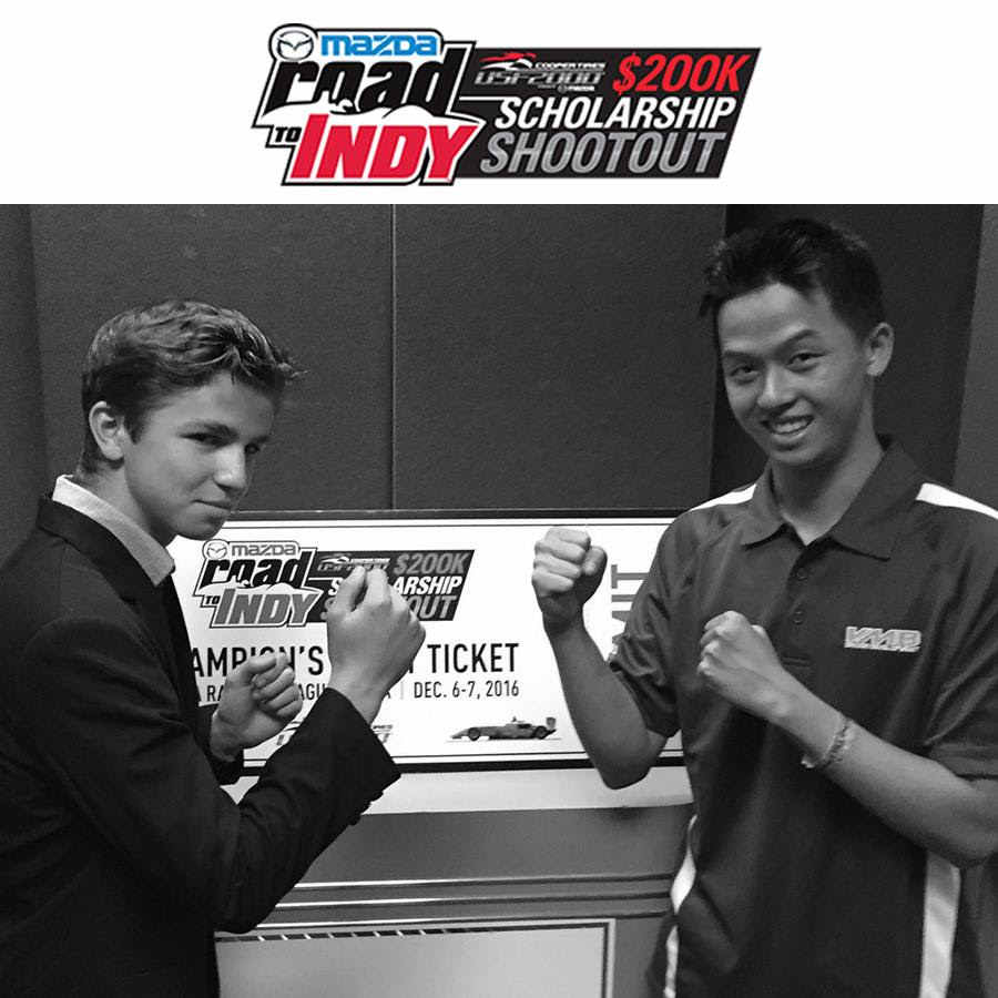 Bruno Carneiro in the fight for the usf 2000 Scholarship