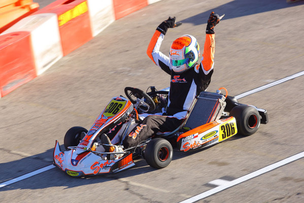 Jake French will look to continue his winning ways in Las Vegas Photo by CKN
