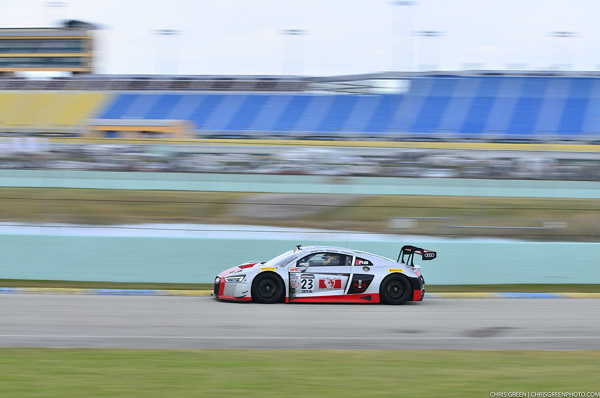 M1 GT Racing and Audi Are Victorious at Miami 500 on track