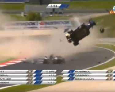 Biggest Formula 3 Crashes compilation