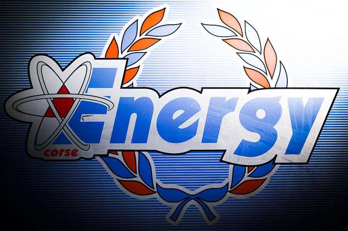 Energy Corse on the podium