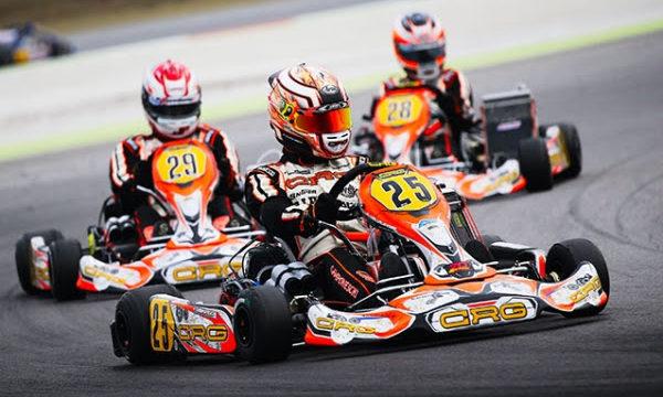 Flavio Camponeschi with Jorrit and Stan Pex. KZ2