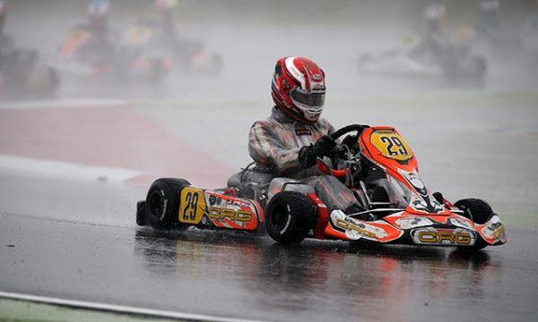 Jorrit Pex in action on CRG-Tm in the WSK Final of Adria