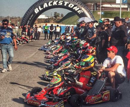 Nicolas Gonzales ready to start the race in Guadalajara