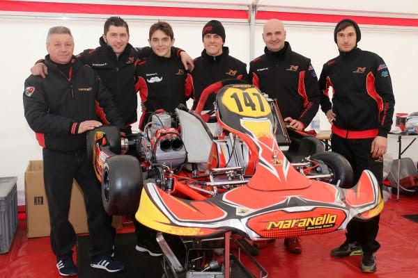 Team Maranello Kart, Winter Cup Lonato