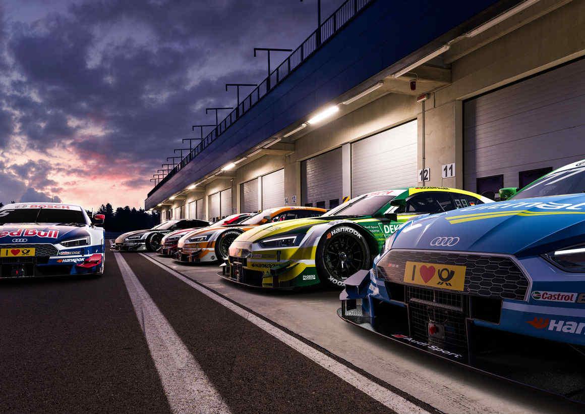 Sharper look for new Audi RS 5 DTM