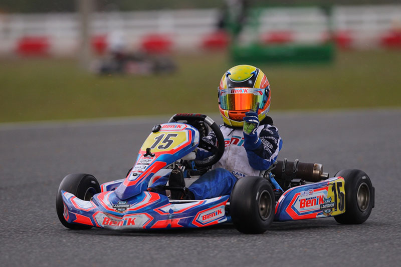 BENIK CLAIMS TWO TITLES IN SERIES FINALE