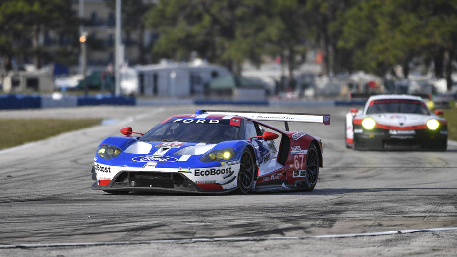 Ford GT 1-2 Qualifying Sweep at Sebring Led by Briscoe
