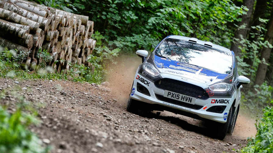 Junior WRC launches in Corsica