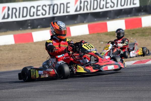 Massimo Dante, Maranello Kart, KZ2