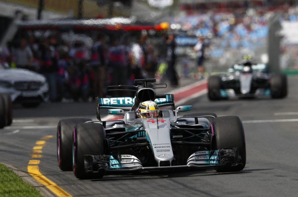 Mercedes and Hamilton on ton in FP1 at the 2017 Australian Grand prix