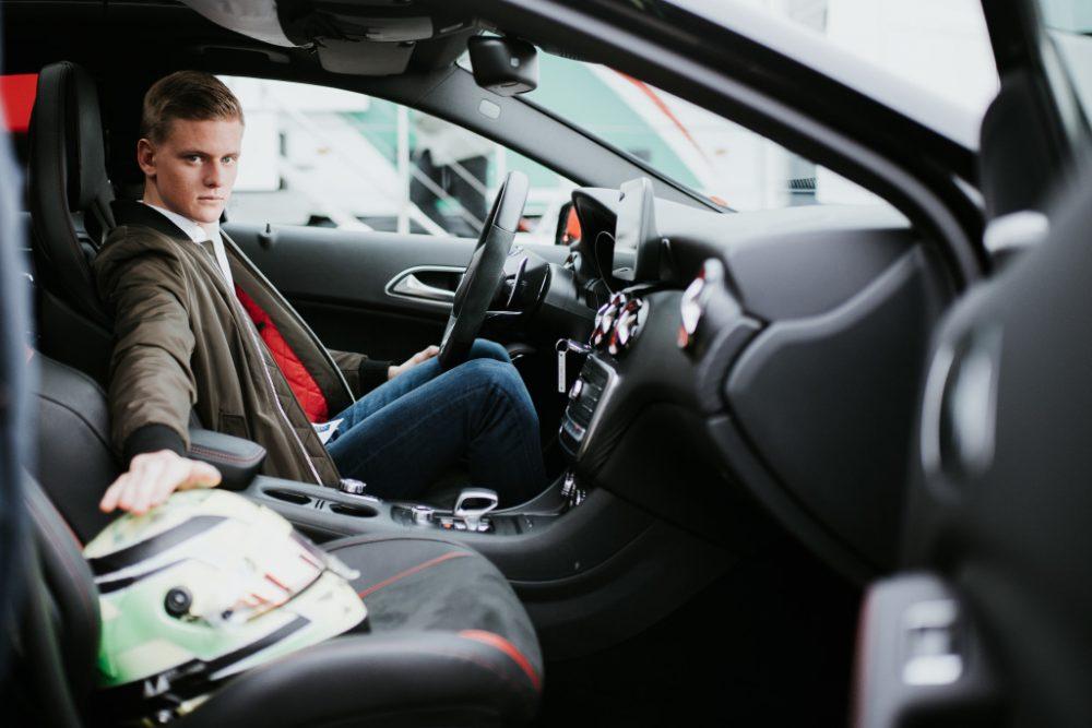 Mick Schumacher, Car Comedy, Mercedes-Benz Brand Ambassador