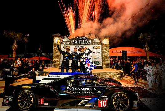 No. 10 Konica Minolta Cadillac DPi-V.R Captures 36 Hours of Florida Honors