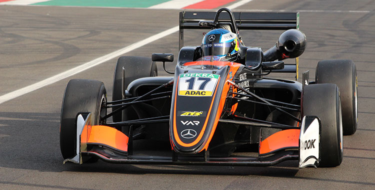 Three Britons dominate the test action at the Hungaroring
