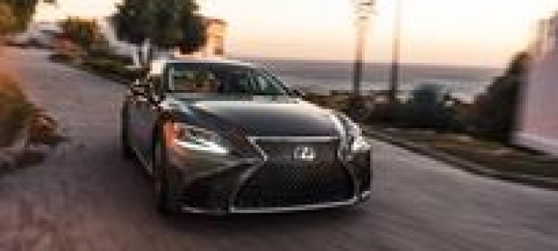 With the All-New 2018 LS, Lexus Reimagines Global Flagship Sedan