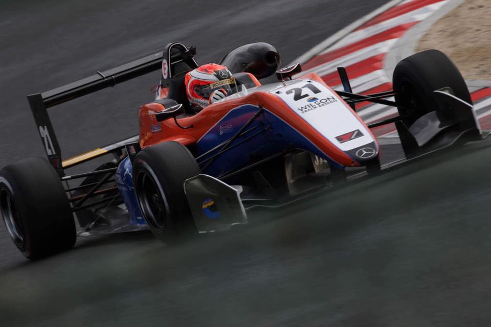 Bruno Carneiro Motorsports Round 1,2 and 3 2017 Japan F3 Championship side view