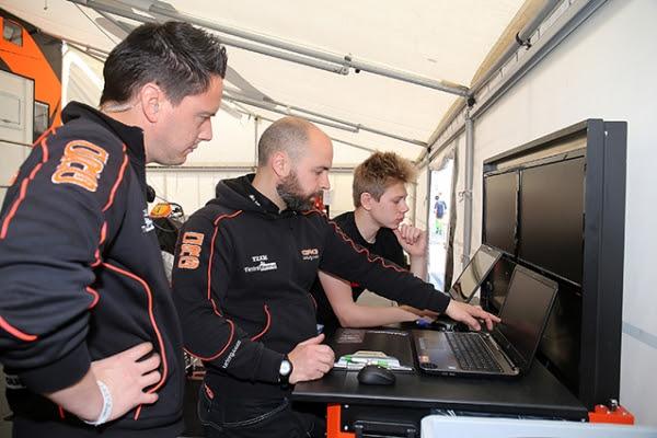 CRG Racing Team, Glenn Keyaert, Marco Urbinati and Callum Bradshaw